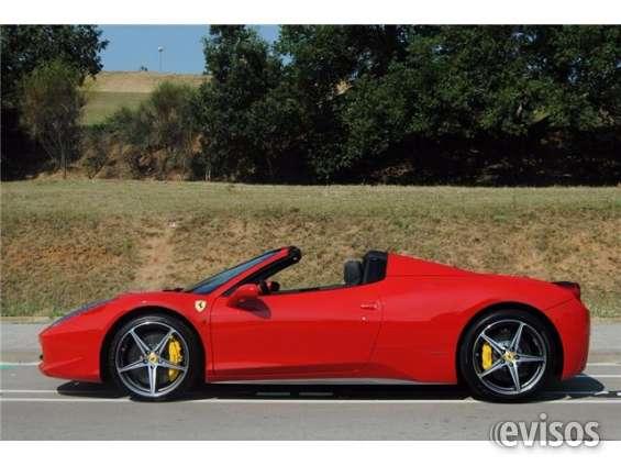 Ferrari 458 spider nacional con libro