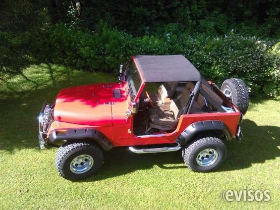 Vendo me jeep cj-7 v8
