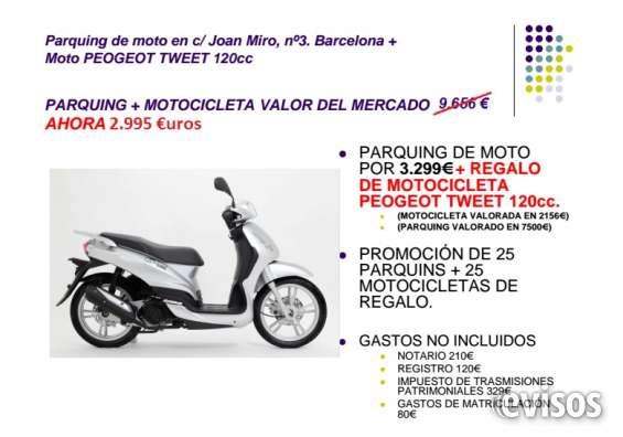 Moto peugeot tweet 125