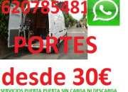 Mudanzas & portes economicos  madrid & toda españa tlf 620785481 whatsapp  las 24 horas