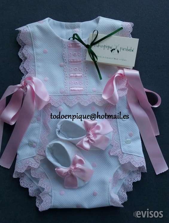 Faldones, conjuntos - artesania para bebe