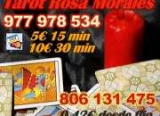 Tarot Rosa Morales la mejor videncia por visa 5 eur 15 min 977 978 534 o 806 131 475