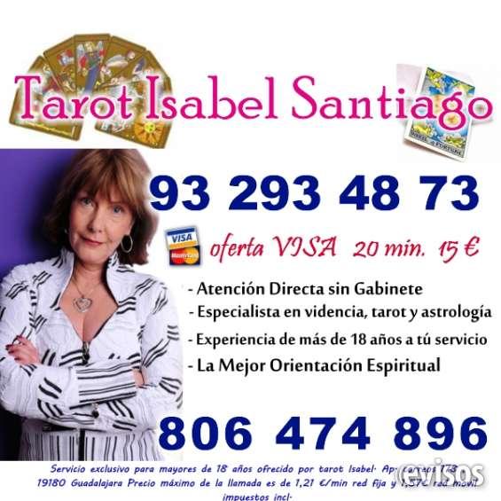 Tarot visa isabel santiago 93 293 48 73 tarot visa 20 min por 15 € atencion