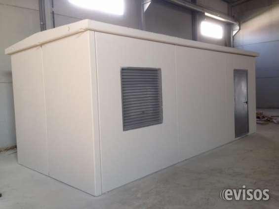 Casetas prefabricadas de hormigón armado cepref
