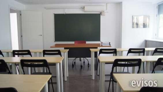 Alquiler aulas y salas de reuniones