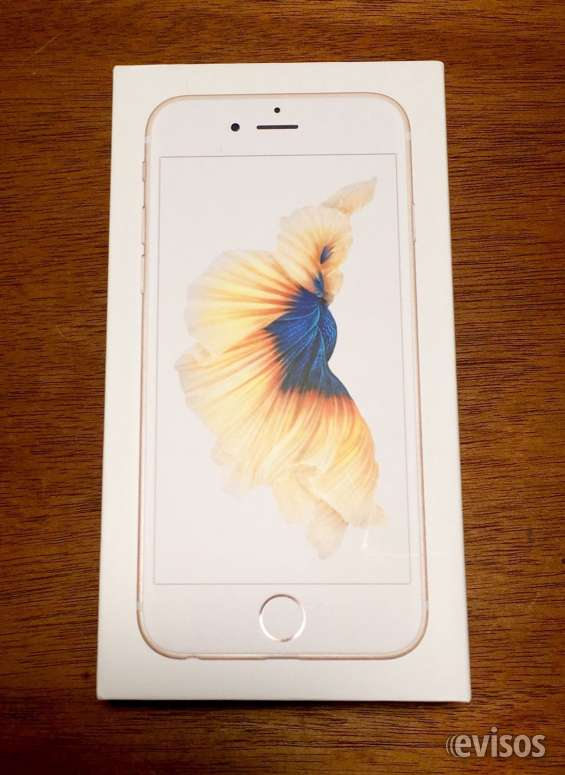 Nuevo sellado iphone 6s plus 64gb oro