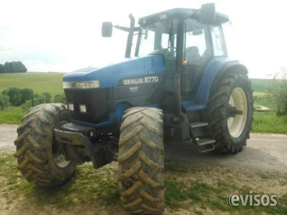 New holland trator 8770