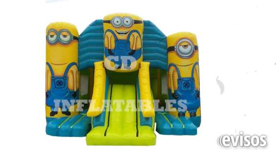 New!! front slide minion hinchables para los ninos!