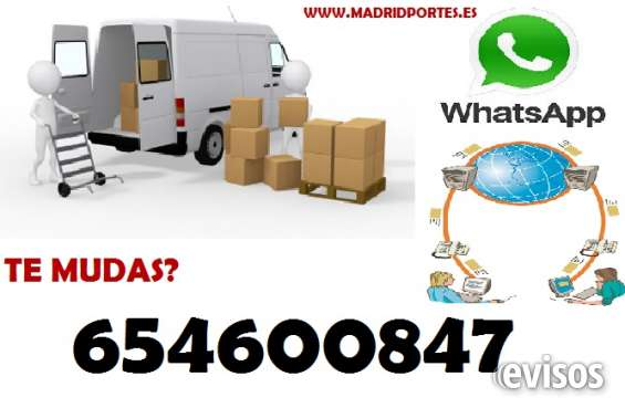 Fletes express 65x46-oo8-47 mudanzas en barajas/madrid