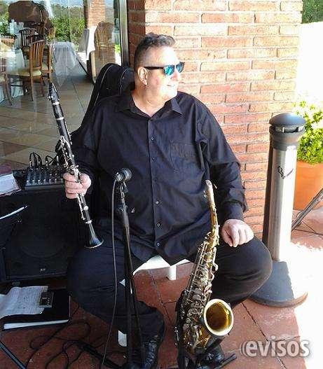 Fotos de Saxo-clarinete y guitarra para bodas y eventos 4