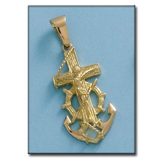 Cristo virgen marinero en oro y en plata