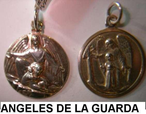 Medalla angel custodio de la guarda