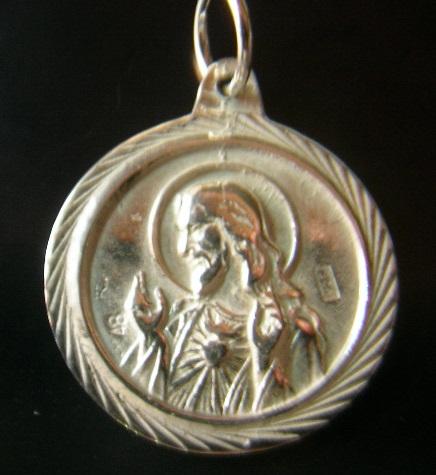 Medallas virgen del camino leon oro y plata