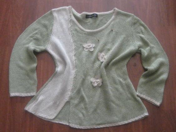 Jersey de algodon con flores