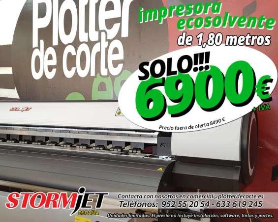 Impresora ecosolvente stormjet sj7180ts
