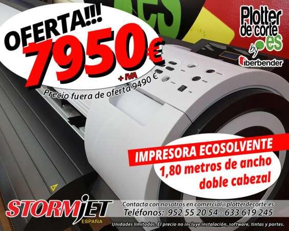 Impresora ecosolvente stormjet sj7180tsii