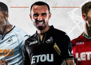 Camiseta del Swansea 2017 2018
