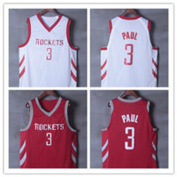 Camisetas nba rockets paul replicas tienda online