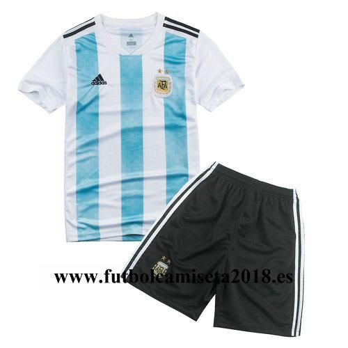 Camiseta nino argentina primera equipacion copa mundial 2018