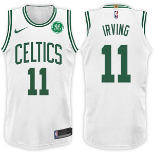 Camiseta celtics irving 2017-18 blanco