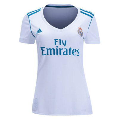 Camiseta real madrid primera 2017 2018 mujer