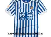 camiseta Real Sociedad 2018,equipacion Real Sociedad 2018