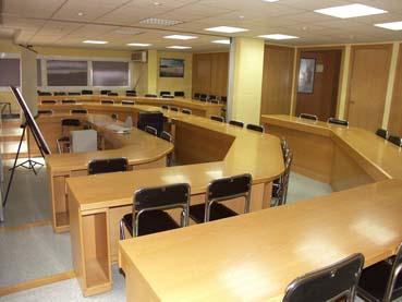Centro de formación alquila aulas para formación y seminarios