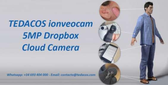 Cámara fotográfica hd espía oculta botón dropbox tedacos ionveocam smartcam