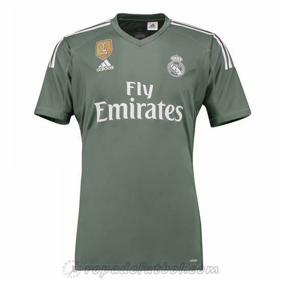 Camiseta del real madrid 2017-2018 1a equipacion portero