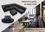 Interiores para el salon cafe