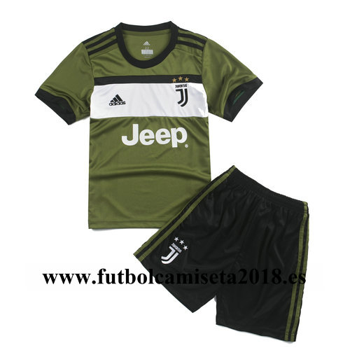 Camiseta nino juventus tercera equipación 2017-2018