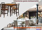 Interiores para restaurante