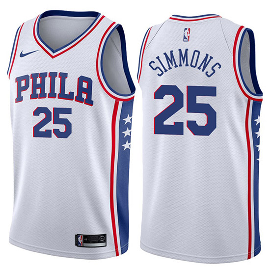 Camiseta 76ers ben simmons association 2017-18