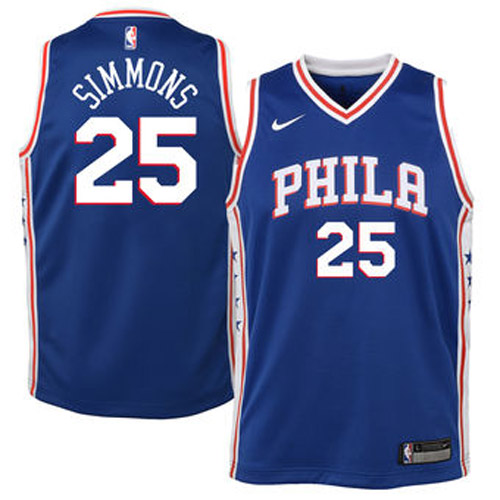 Fotos de Camiseta 76ers ben simmons association 2017-18 3