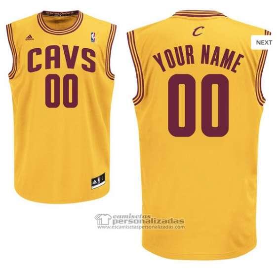 Camisetas nba cleveland cavaliers personalizada
