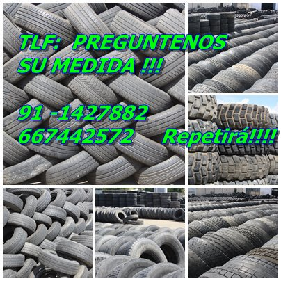 Ruedas camion segundo uso por contenedores 627004388