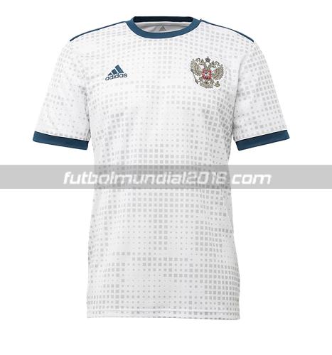 Tailandia camiseta rusia 2018 segunda equipación