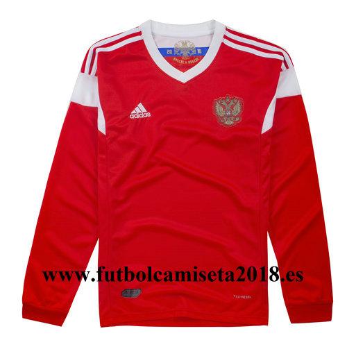Camiseta manga larga rusia primera equipación 2018