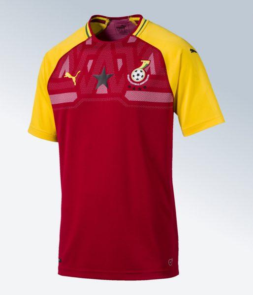 Camiseta ghana 2018 2019