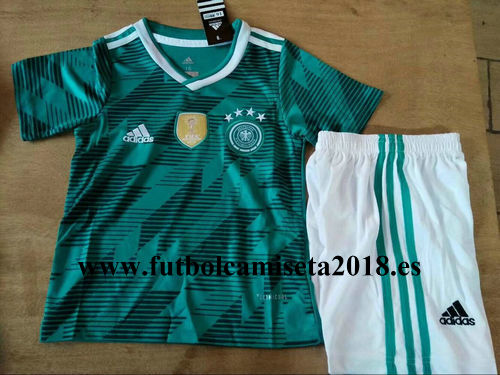 Camiseta nino alemania segunda equipacion copa mundial 2018