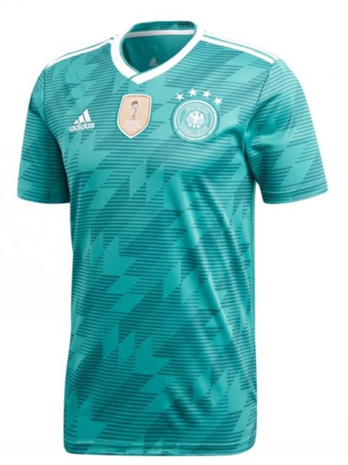 Alemania 2018 mundia thai camiseta segunda equipacion
