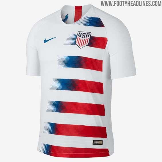 Camisetas de futbol estados unidos 2017 2018