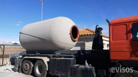 Tinajas de hormigón depósito de agua tanque de hormigón