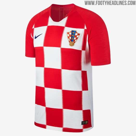 Camisetas de futbol croacia 2018