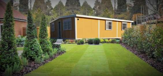 Casas móviles de diseños modernos a medida del cliente