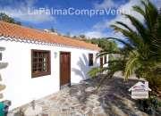 Id-146  bonita casa rural  estilo canario con vista hermosa al mar y montana en mazo