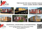mobile homes desde 20 mts 2 hasta 200 mts2