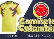 EN BARUH CAMISETAS DE COLOMBIA DEL MUNDIAL