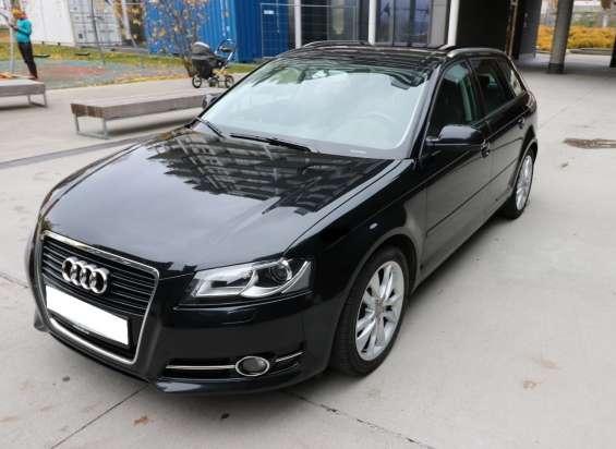 Audi a3, azul, año 2012