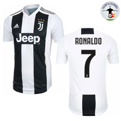 Camiseta juventus jugador ronaldo primera 2018 2019